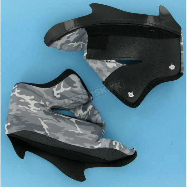 Icon Urban Camo Cheek Pads for Icon Helmets - 30mm - 0134-0666