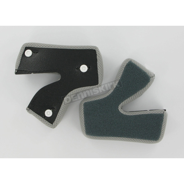 AFX Black Cheek Pads for AFX Helmets - 0134-0807