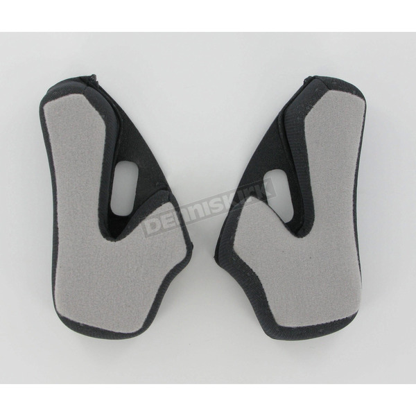 AFX Black Cheek Pads for AFX Helmets - 0134-0836