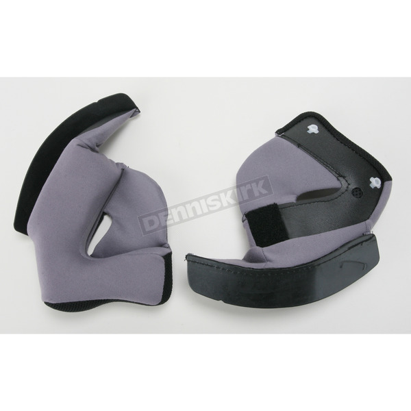 HJC Black Cheek Pads for IS-33 Helmets - 954-015