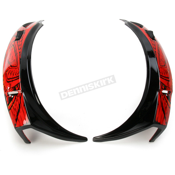Icon Super Vent for Icon Alliance Freaky Tiki Helmet - 0133-0618