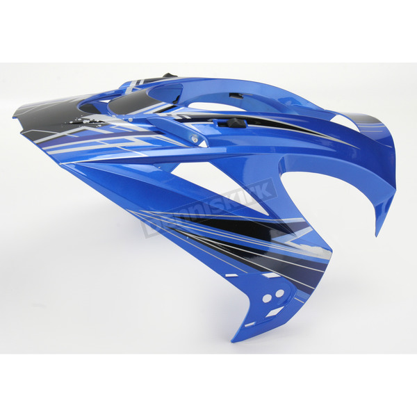 Icon Blue Visor for Variant Salvo Helmets - 0132-0601