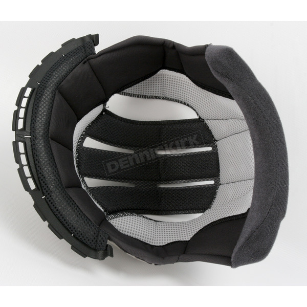 Shoei Helmets Black Center Pad for Shoei X-Twelve Helmets - 0212-4205-04