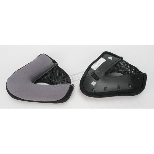 HJC Black Cheek Pad Set for HJC IS-Max BT Helmets - 60-1403C