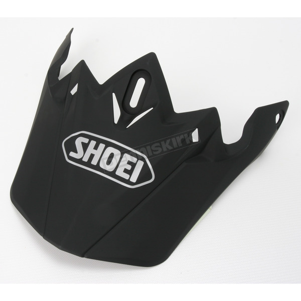 Shoei Helmets Matte Black VFX-W Off-Road Visor - 0245-6001-35