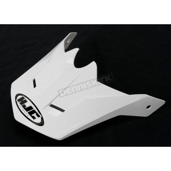 HJC White Visor for HJC CL-XY Youth Helmet - 60-1930C