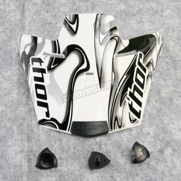 Thor Visor Kit for Youth Quadrant Marble Helmet - 0132-0629