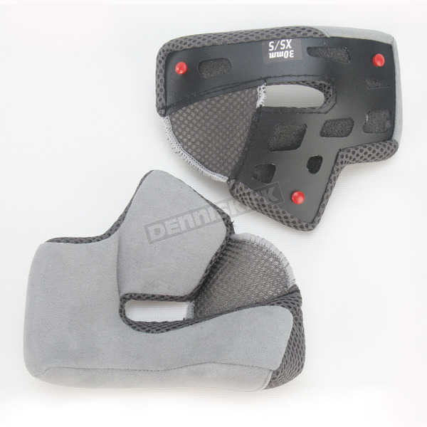 Bell Helmets Grey Cheek Pad Set for RS-1 Helmet Sizes XS - S  - 2026931