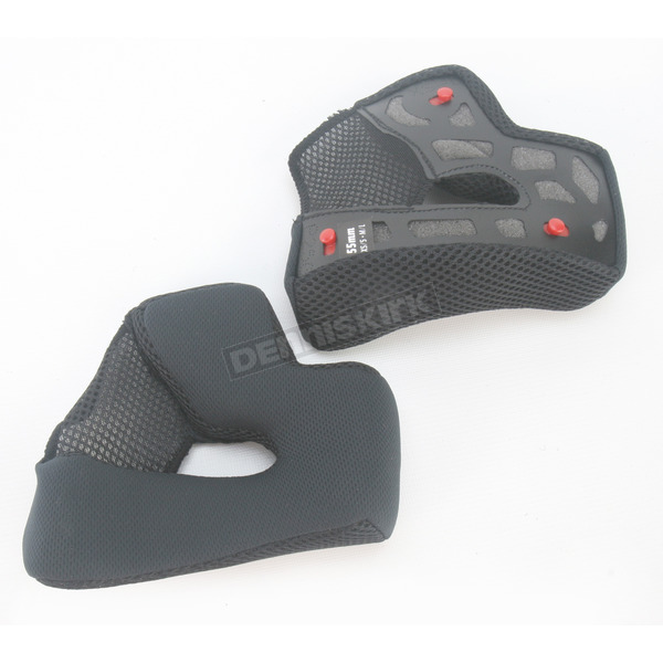 Bell Helmets Black Cheek Pad Set for XS - L Vortex Helmets - 2022677