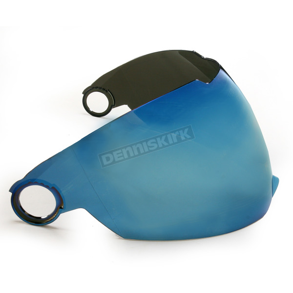 AFX Blue/Mirror Anti-Scratch Outer Shield - 0130-0435