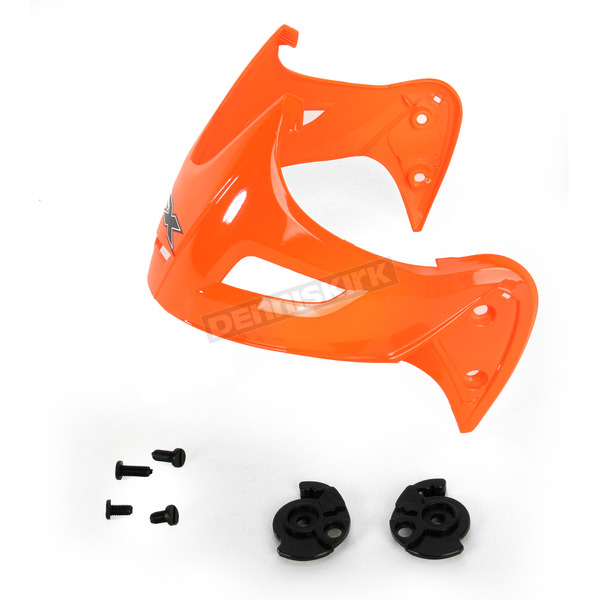 AFX Safety Orange Visor for AFX FX-50 Helmets - 0132-0660