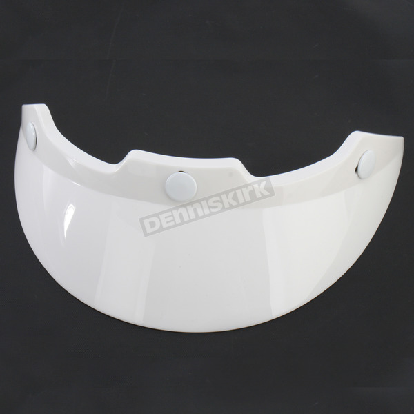 Bell Helmets White Visor for Bell Shorty Helmet - 2018001
