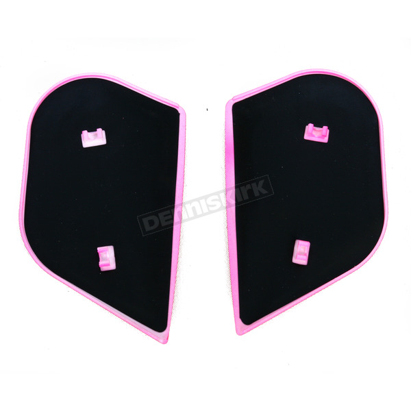 Icon Pink Sideplates for Alliance Chrysalis Helmets - 0133-0658