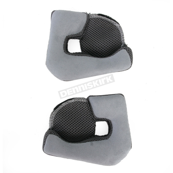 Bell Helmets Gray 30mm Cheek Pads for Mag 9 Helmets - 2035473