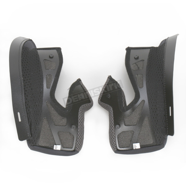 AGV Black Cheek Pads - KIT13017999