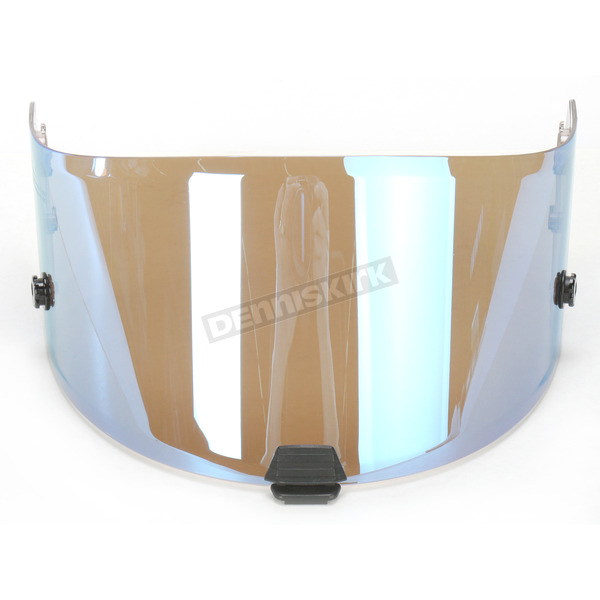 HJC RST Mirrored Blue RPHA-10 Pinlock Ready Tear-Off Shield - 0901-9502-00