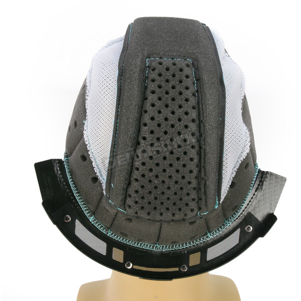 Thor Gray/Cyan Liner for Thor Verge Helmets - 0134-1492
