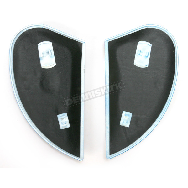 Icon Black/Green Airmada Basstard Sideplates - 0133-0749