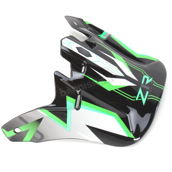 Z1R Green Roost Launch Youth Visor  - 0132-0760
