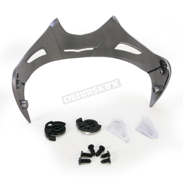 AFX Frost Gray Multi FX-50 Visor w/Screws  - 0132-0825