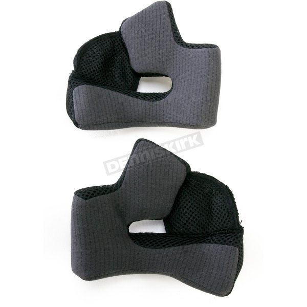 Bell Helmets Black 40mm Cheek Pad Set for Medium and Large RS Series Helmets - 8003973