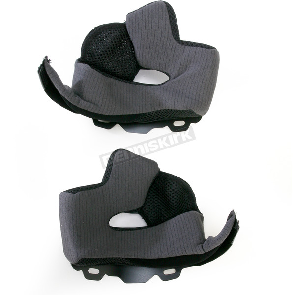 Bell Helmets Black Firm 45mm Cheek Pad Set for Medium and Large Star Helmets - 8003953