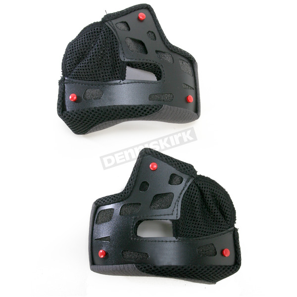 Bell Helmets Black 35mm Cheek Pad Set for X-Small and Small RS Series Helmets - 8003968
