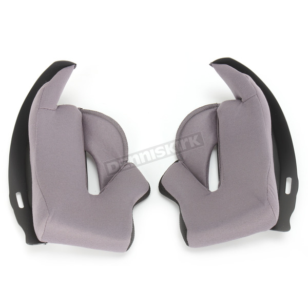 HJC Gray IS-17 Helmet Cheek Pads - 582-026