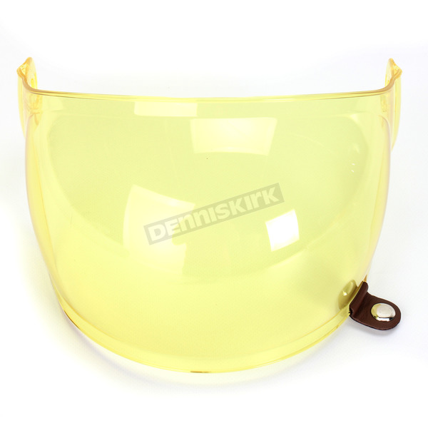 Bell Helmets Yellow Bubble Shield with Brown Tab for Bullitt Helmets - 8013388