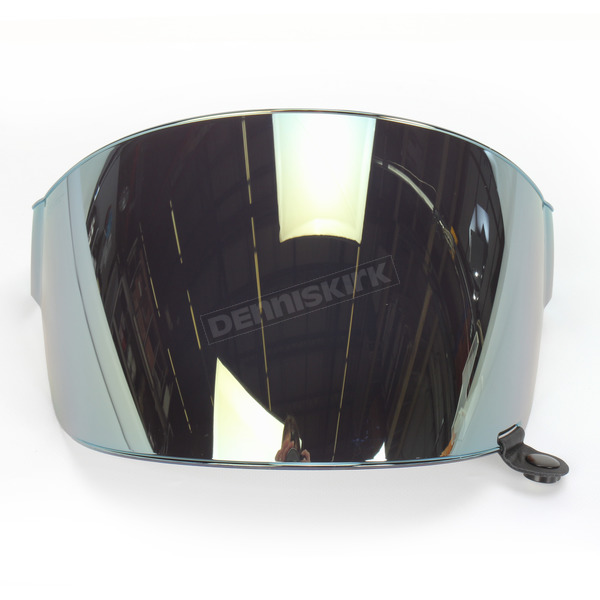 Bell Helmets Iridium Gold Flat Shield with Black Tab for Bullitt Helmets - 8013376