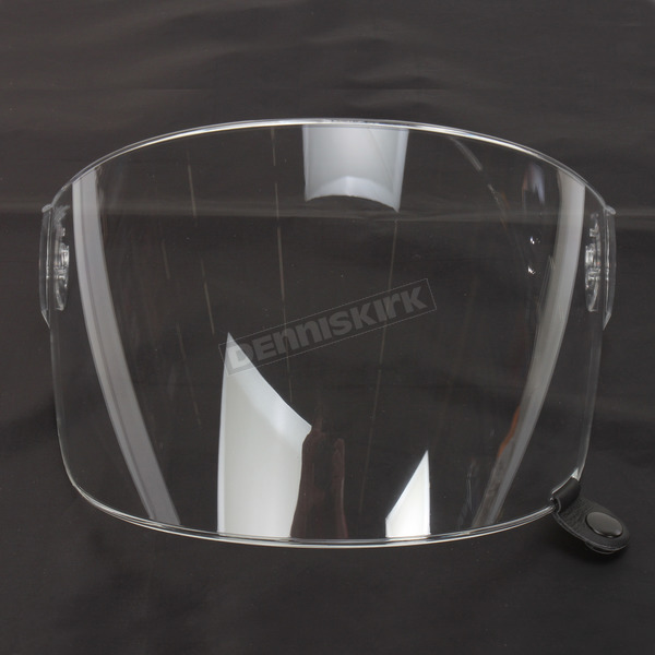 Bell Helmets Clear Flat Shield with Black Tab for Bullitt Helmets - 8013377