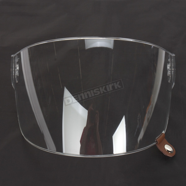 Bell Helmets Clear Flat Shield with Brown Tab for Bullitt Helmets - 8013386