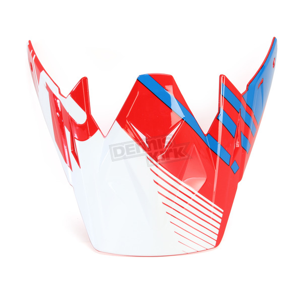 Z1R Red/White/Blue Roost SE Visor - 0132-0912
