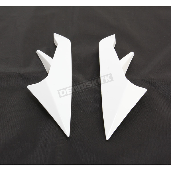 Z1R White Strike Ops and Strike Ops SV Side Vent - 0134-1761