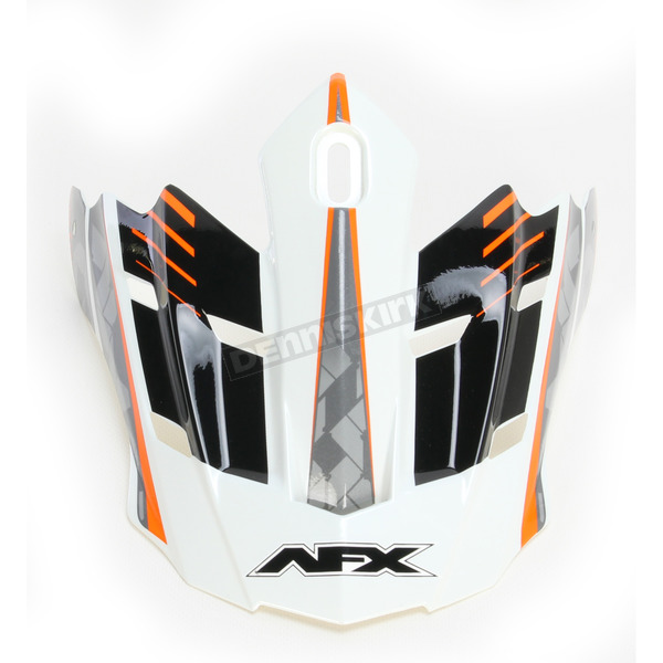 AFX Safety Orange FX-17 Factor Visor - 0132-0940