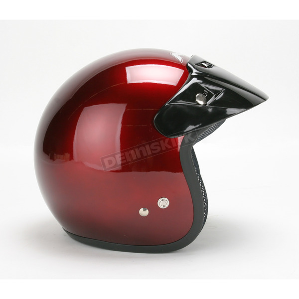 AFX FX-75 Wine Red Helmet - 0104-0092