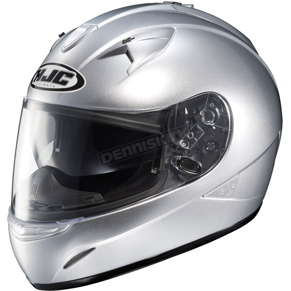 HJC IS-16 Silver Helmet - 580-576