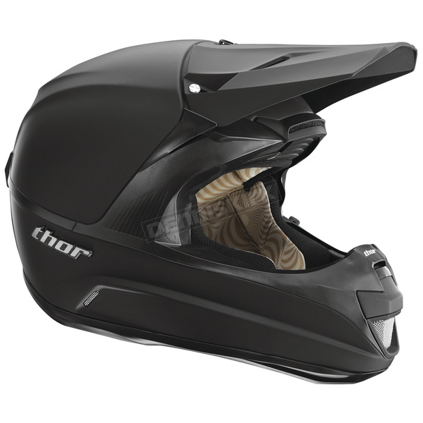 Thor Force Matte Black Helmet - 0110-2415