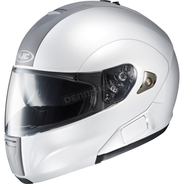HJC IS-Max BT Modular White Helmet - 958-146