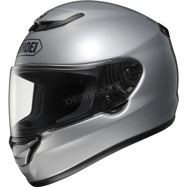 Shoei Helmets Qwest Metallic Light Silver Helmet - 0115-0107-07