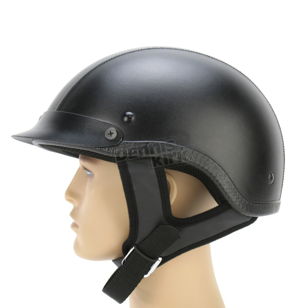 Rodia Leather Shorty Helmet - 200-773