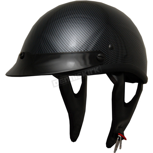 Helmets Inc Carbon Look Shorty Helmet - 100CL-XXL