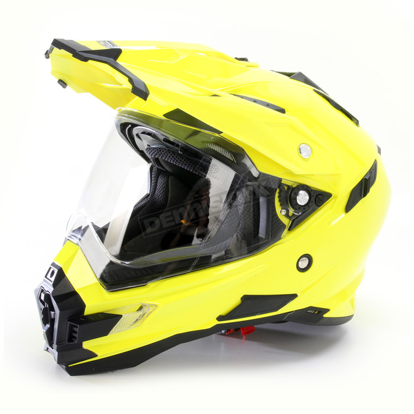 AFX Hi-Vis Yellow FX-41DS Helmet - 0110-3775