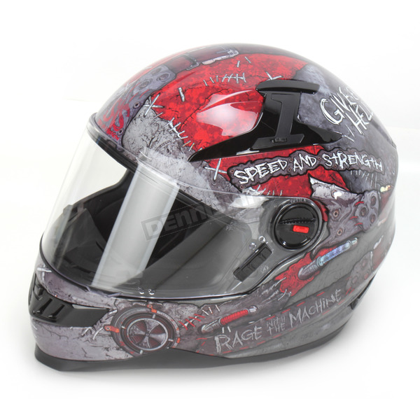 Speed and Strength Rage With The Machine SS1300 Helmet - 87-6456