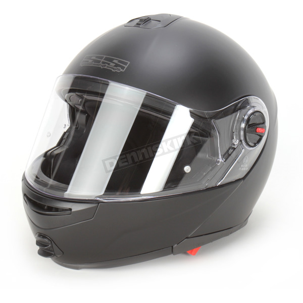 Speed and Strength Matte Black Lock and Load SS1700 Modular Helmet - 87-6464