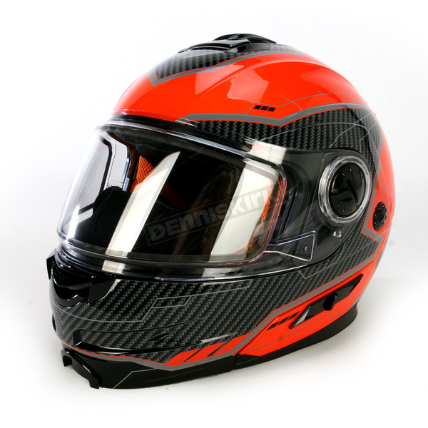FXR Racing Orange/Black Fuel Modular Helmet  - 14430