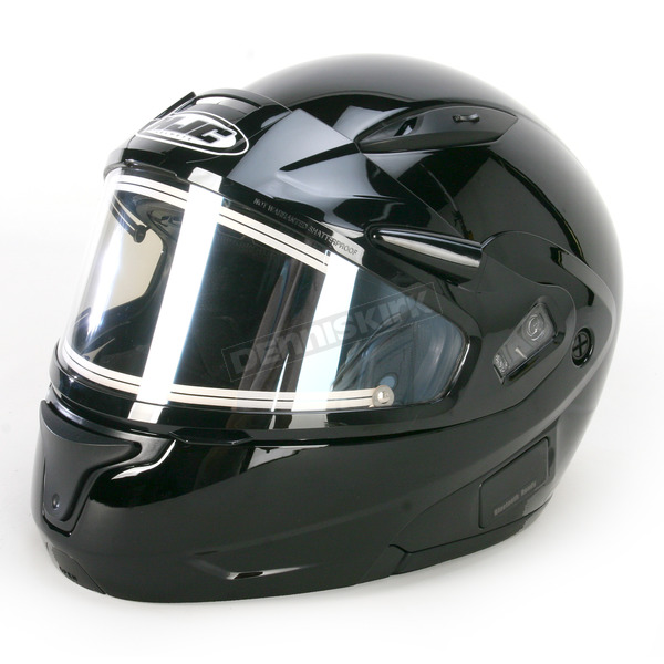 HJC Black CL-MAXIIBTSN Modular Helmet w/Electric Shield - 59-24209X