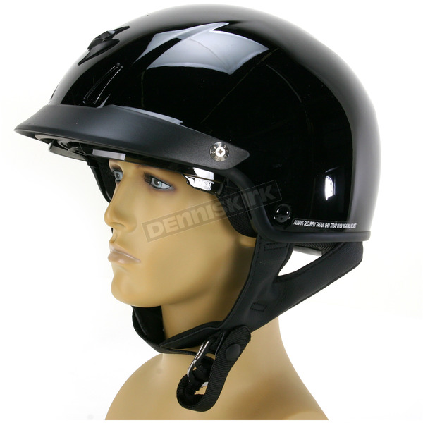 Scorpion Black EXO-C110 Helmet - C11-0034