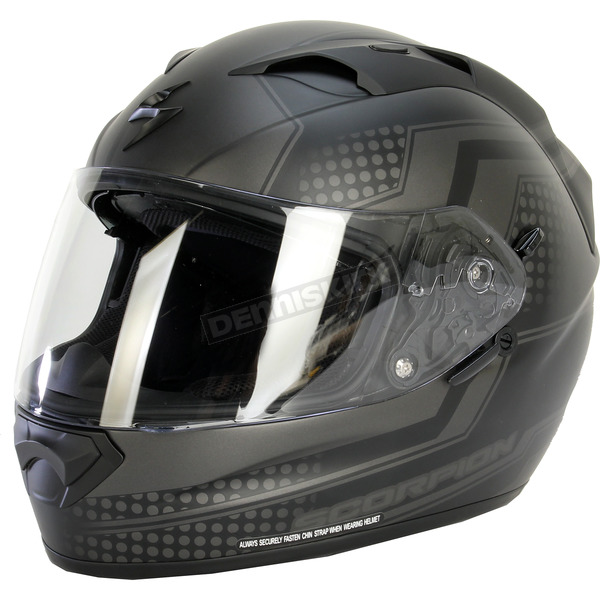 Scorpion Black/Gray EXO-T1200 Alias Phantom Helmet - T12-1426