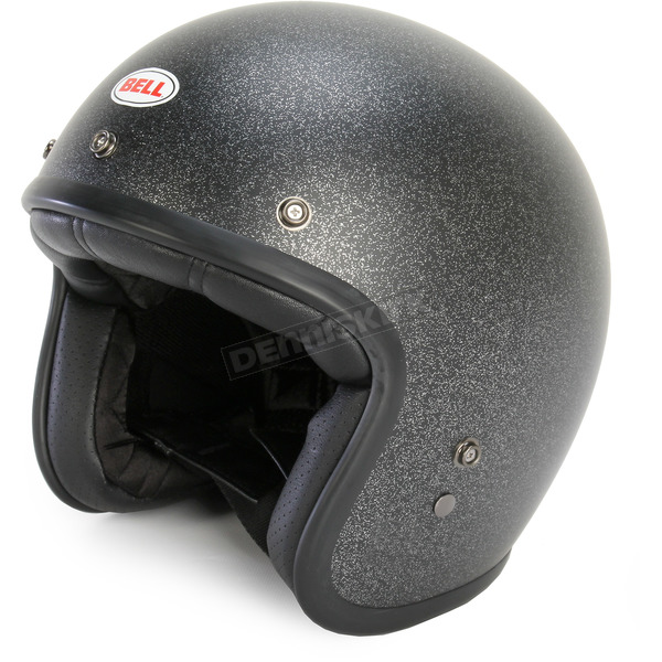 Bell Helmets Metallic Black Flake Custom 500 Helmet - 7062357